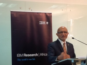 Asst Sec Kumar at IBMResearchAf