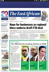 EastAfrican page