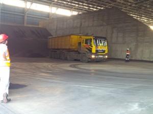 Base Likoni truck