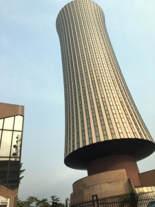Tallest building in Brazzaville with interesting history