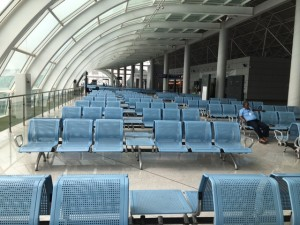 Great airport! (Built by the Chinese)