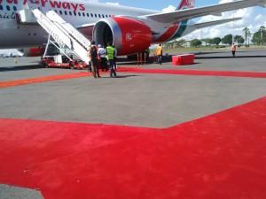 inaugural Dreamliner