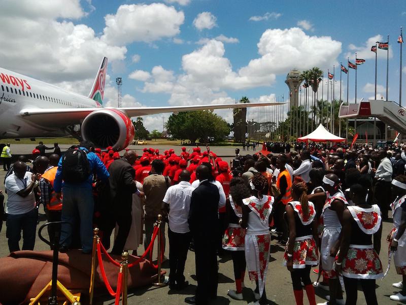 Direct Flights between Kenya and USA